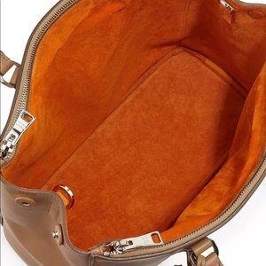 bc27d8bfb75e best price prada bags prada galleria caramel brown city calf tote bag 314ed  0986c